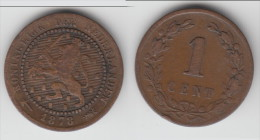 **** PAYS-BAS - NETHERLANDS - 1 CENT 1878 WILLEM III **** EN ACHAT IMMEDIAT - 1849-1890 : Willem III