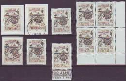 1203v: Österreich 1969, Tag Der Briefmarke, Altes Postschild Unken, 10 **/o Ausgaben - Timbres