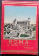 ROMA - 32 VEDUTE A COLORI - PARTE II  - 2 Image  -    (Nº04168) - Livres, BD, Revues