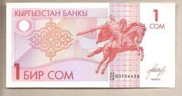 Kirghizistan - Banconota Non Circolata Da 1 Som - Kirghizistan