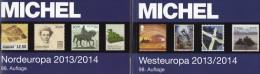 MICHEL Part 5+6 North/West-Europa Stamp Europe Catalogue 2013/2014 New 120€ DK FL Esti Lt Lat Sverige NO UK EIRE B N Lux - Zeitschriften: Abonnement