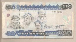 Nigeria - Banconota Circolata Da 50 Naira P-27c - 1991 #19 - Nigeria