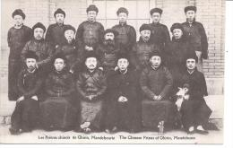 CHINE - Les Prêtes Chinois De Ghirin, Mandchourie - Chine