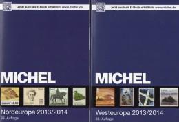 MICHEL Band 5+6 Nord/Westeuropa Briefmarken Europa Katalog 2013/2014 Neu 120€ DK FL Esti Lt Lat S NO UK Man EIRE B N Lux - Sammlungen