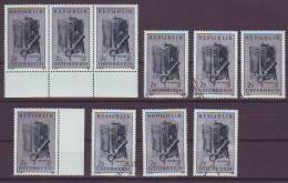 1203z4: Österreich 1969, Weltspartag- Motiv Banken & Sparkassen: 10 **/o Ausgaben - Jobs