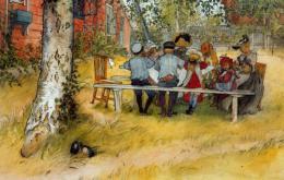 Oil Painting Carl Larsson (1853-1919) 0200 - Non Classés