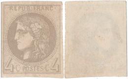 Emission Bordeaux N°41 R 2  - NSG Jaunâtre (à Lilas) - 1870 Bordeaux Printing