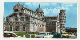 Mini Cartolina Di Pisa Si Vede Bene Citroen Ds - Pisa