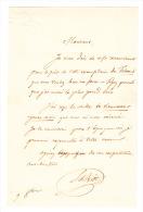 (Chine). BIOT (Edouard), Sinologue, écrivain Et Historien (1803-1850). Lettre Autographe Signée à M. Stanislas Julien, M - Handtekening