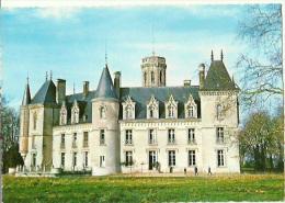 37 - Louestault - Maison De Repos Des Jeunes Travailleurs Chateau De Fontenaies  - Non Circulée - France