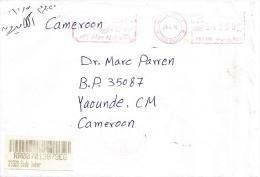 Egypt 2010 Sidi Gaber Pitney Bowes Meter Franking EMA Barcoded Registered Cover - Egypte