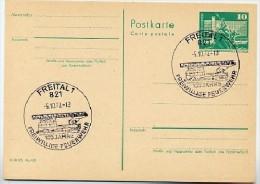 FEUERWEHR FREITAL 1978 Auf  DDR Postkarte P79 - Sapeurs-Pompiers