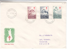 Poissons - Rats - Phoques - Finlande - Lettre De 1961 - Storia Postale