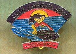 Pin´s Pins - Sea Sport Sun - Jet Ski - Ski Nautique - Waterski