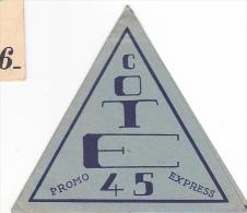 Rennes 35 Bretagne France - Carte Ecole Guerre 1939 1945 Eleve Bac Résisitance ? Promo 45 Les Filles E-M 43-46 - Vieux Papiers