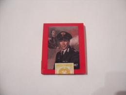 SCATOLA DI FIAMMIFERI DA COLLEZIONE  MINERVA CARABINIERI COPERTINA CALENDARIO 1987 - Scatole Di Fiammiferi