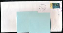"""Enveloppe, Lettre Verte, Timbre 2013 """"Vincent Van Gogh, La Nuit étoilée, Arles"""", Oblitération Ronde La Poste  (14-11-13) - Marcophilie (Lettres)"""