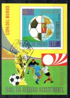 GUINEE EQUATORIALE. BF Oblitéré. Coupe Du Monde De Football 1974. - Coppa Del Mondo