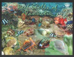 Vanuatu - 2006 Shells Sheet MNH__(THB-2703) - Vanuatu (1980-...)