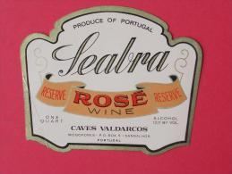 SEABRA - ROSE WINE - CAVES VALDARCOS   -    (Nº04243) - Etiquettes