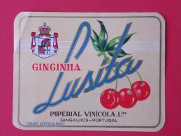 GINGINHA - IMPERIAL VINICOLA   -    (Nº04244) - Etiquettes