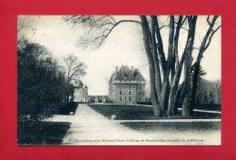 MOULINS SUR YEVRE 1922 LE CHATEAU DE MAUBRANCHE CARTE EN BON ETAT - Autres Communes