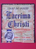 VINHO DO PORTO - LAGRIMA CHRISTI   -    (Nº04246) - Etiquettes