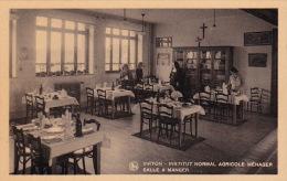 Virton 112: Institut Normal Agricole Ménager. Salle à Manger - Virton