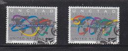 NATIONS  UNIES  NEW-YORK  1994         N° 665 - 666    OBLITERE   CATALOGUE  YVERT&TELLIER - New-York - Siège De L'ONU
