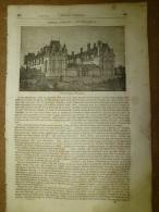 17 Juillet 1834 MAGASIN UNIVERSEL :Château ECOUEN; Tout Sur Le Sucre De Canne (gravures);PETRARQUE à Arqua - Zeitungen
