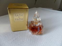 ECHANT / FATH DE FATH    / EdeT   5ml /  PLEIN - Miniaturen Flesjes Dame (met Doos)