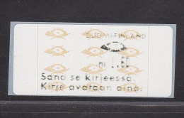ATM: Finland 1993 Mi.12.6 Z1 - Mint/**  (M1-27) - ATM - Frama (labels)