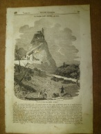 24 Juillet 1834 MAGASIN UNIVERSEL:La Roche Saint-Michet, Au Puy;IBIS Vénéré;Art Héraldique (boucliers);Château D´AUMALE - Kranten