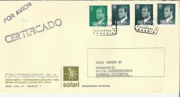 MADRID CC CERTIFICADA SUC-1 SELLOS BASICA JUAN CARLOS I - 1931-Hoy: 2ª República - ... Juan Carlos I