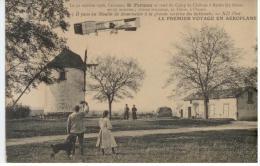CPA AVIATION  FARMAN MOULIN DE MOURMELON CAMP DE CHALONS A REIMS BE - ....-1914: Précurseurs