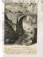 CPA SUISSE - Gotthard Furka, Die Teufelsbrücke - UR Uri