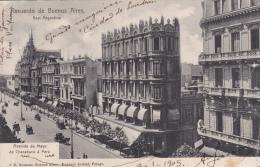 AMERIQUE,ARGENTINE,ARGENTINA ,RECUERDO DE BUENOS AIRES EN 1905,carte Avec Timbre - Argentina