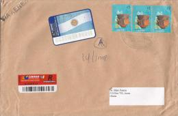 Argentina 2006 Buenas Aires Cup Barcoded Registered Cover - Argentinië