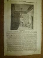 31 Juillet 1834 MAGASIN UNIVERSEL: Fontainebleau; Le Sommeil Des Plantes; Serment Des 7 Chefs ;STONHENGE Des Druides; - Kranten