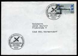 29365) BRD - Mi 1231 - FDC - 80Pf     Frieden Und Verständfigung - FDC: Briefe