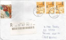 Croatia 2011 Overprint Stamps Barcoded Registered Cover - Kroatië