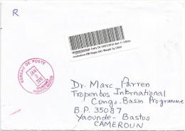United Arab Emirates 2010 Sharjah Post Office Meter Franking Barcoded Registered Cover - Verenigde Arabische Emiraten