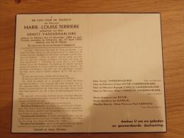 Doodsprentje Marie-Louise Terriere Merkem 12/11/1886 - 23/4/1949 (Ernest Vandermarliere) - Religion & Esotericism