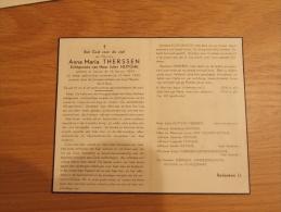 Doodsprentje Anna Maria Therssen Veurne 18/1/1899 - 15/4/1950 ( Jules Huyghe) - Religion & Esotérisme