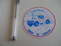 Autocollant - PARIS DAKAR 1983 - JACADI - Autocollants