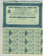Sté Indust. De La Grande Peche Pierre Barris Et Cie à Port Etienne En Mauritanie - Afrique