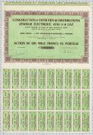 Electricité Eau Et Gaz à Poitiers Dpt 86 - Electricité & Gaz
