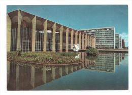 CP, BRESIL, Brasilia, Palaccio Dos Arcos, écrite, Voyagé En 1972 - Brasilia