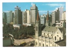 CP, BRESIL, Curitiba, Praça Tirandentes, Vierge - Curitiba