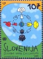 SI 2001-367 DIJALOG, SLOVENIA, 1 X 1v, MNH - Gemeinschaftsausgaben